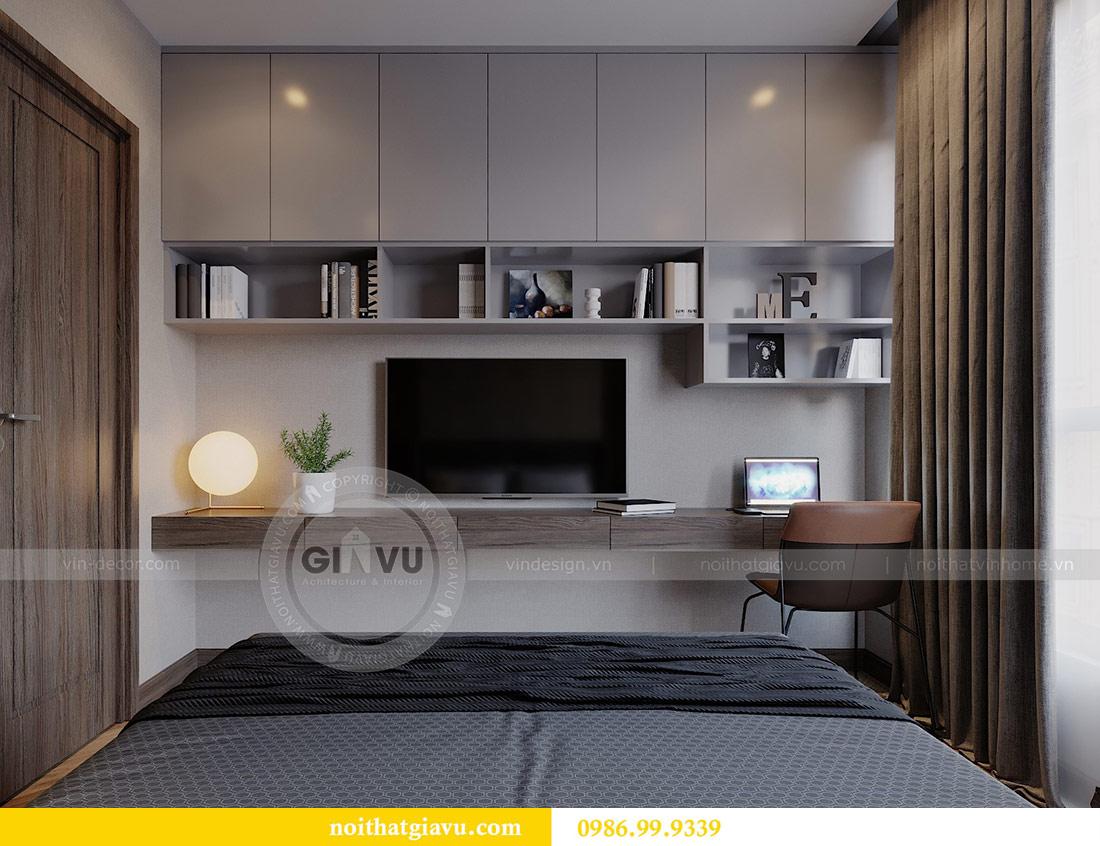 Thiết kế chung cư Vinhomes Green Bay tòa G2 căn 15B - Anh Thắng 11