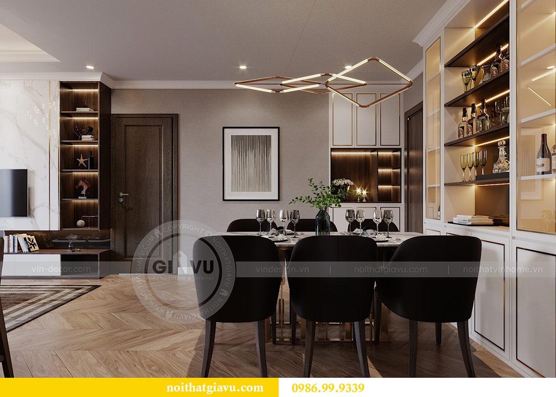Thiết kế chung cư Vinhomes Green Bay tòa G2 căn 15B - Anh Thắng 4