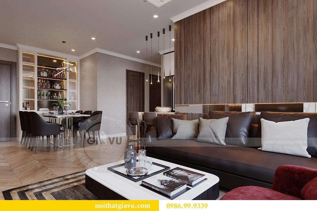 Thiết kế chung cư Vinhomes Green Bay tòa G2 căn 15B - Anh Thắng 5