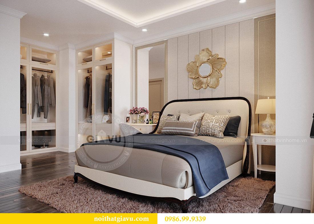Thiết kế nội thất chung cư Mễ Trì tòa G1 căn 3 ngủ nhà chị Thu 12