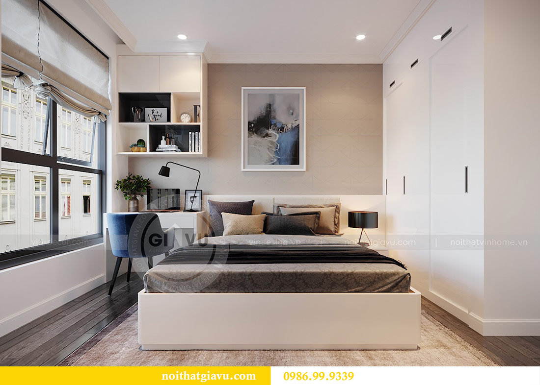 Thiết kế nội thất chung cư Mễ Trì tòa G1 căn 3 ngủ nhà chị Thu 14