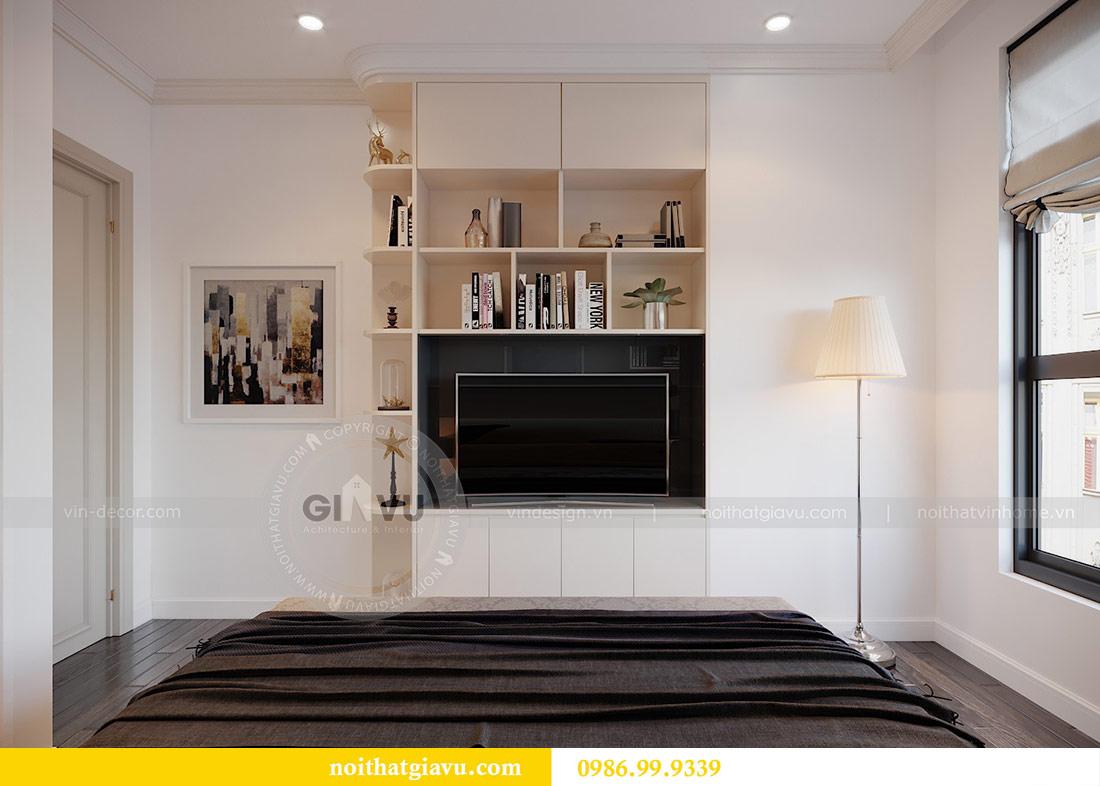 Thiết kế nội thất chung cư Mễ Trì tòa G1 căn 3 ngủ nhà chị Thu 15