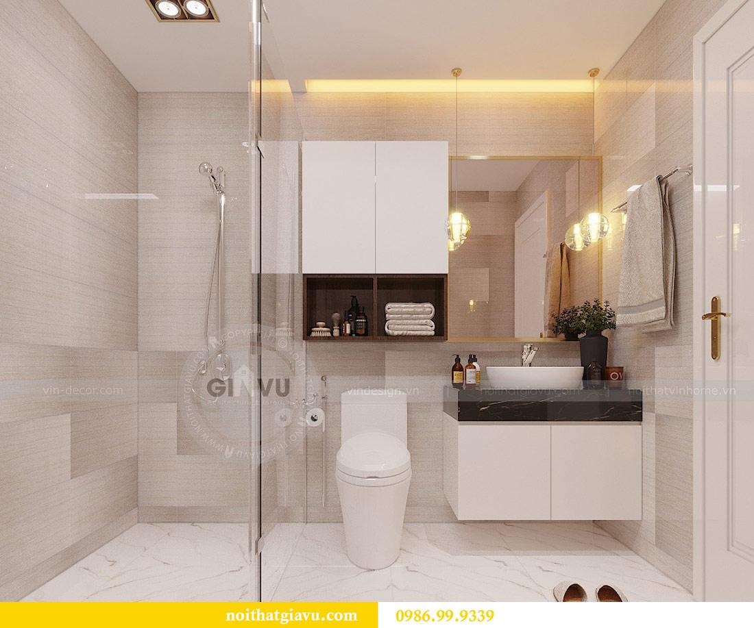 Thiết kế nội thất chung cư Mễ Trì tòa G1 căn 3 ngủ nhà chị Thu 16