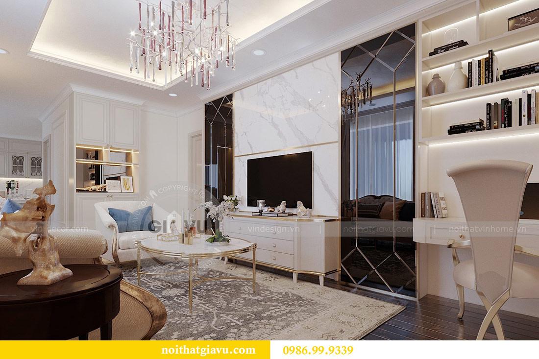 Thiết kế nội thất chung cư Mễ Trì tòa G1 căn 3 ngủ nhà chị Thu 2