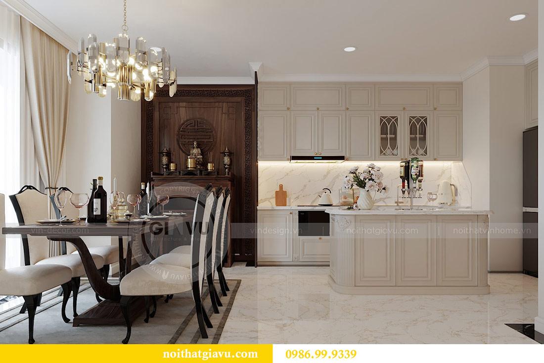 Thiết kế nội thất chung cư Mễ Trì tòa G1 căn 3 ngủ nhà chị Thu 4