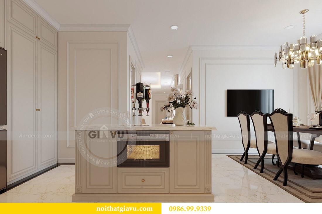 Thiết kế nội thất chung cư Mễ Trì tòa G1 căn 3 ngủ nhà chị Thu 5