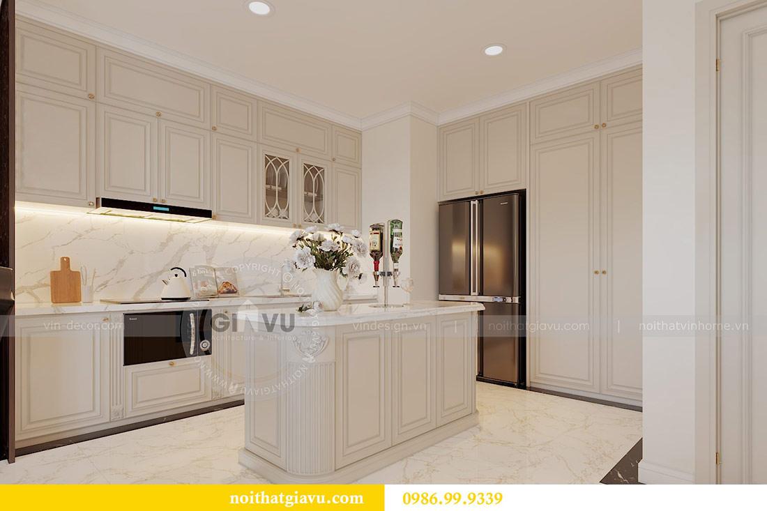 Thiết kế nội thất chung cư Mễ Trì tòa G1 căn 3 ngủ nhà chị Thu 6