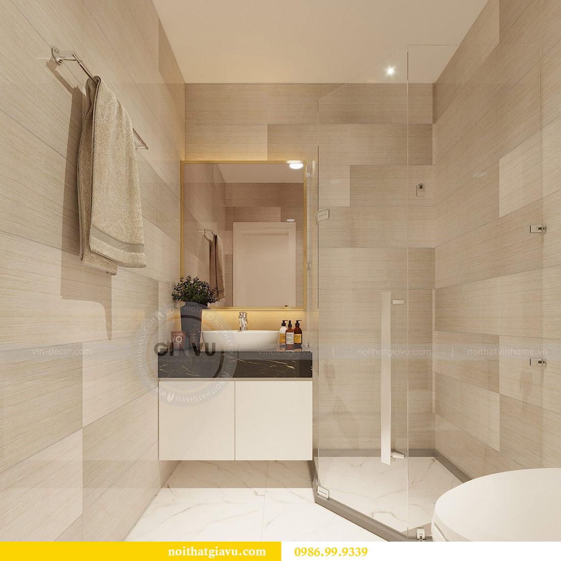 Thiết kế nội thất chung cư Mễ Trì tòa G1 căn 3 ngủ nhà chị Thu 8