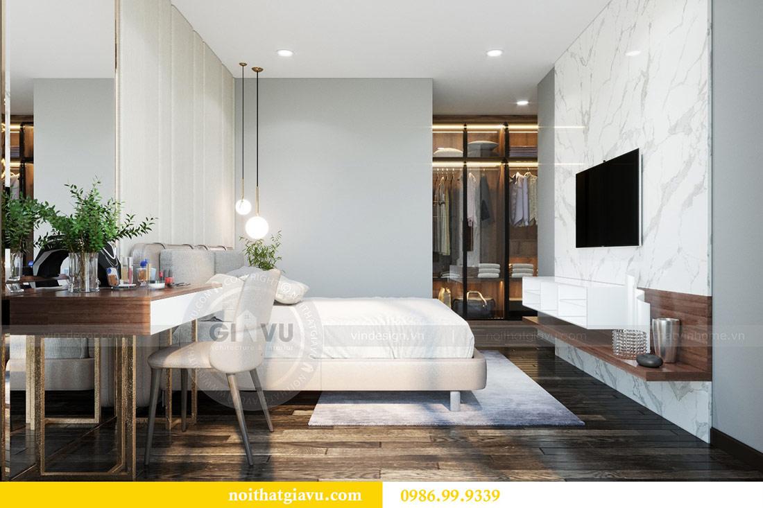 Thiết kế nội thất Vinhomes Sky Lake tòa S2 căn 06 - chị Loan 10
