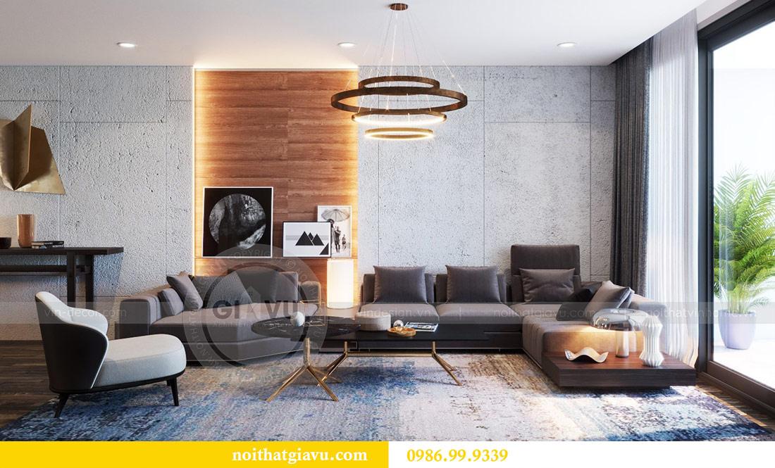 Thiết kế nội thất Vinhomes Sky Lake tòa S2 căn 06 - chị Loan 6