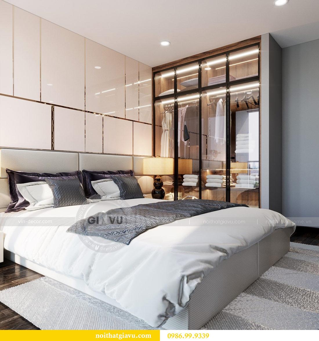 Thiết kế nội thất Vinhomes Sky Lake tòa S2 căn 06 - chị Loan 8