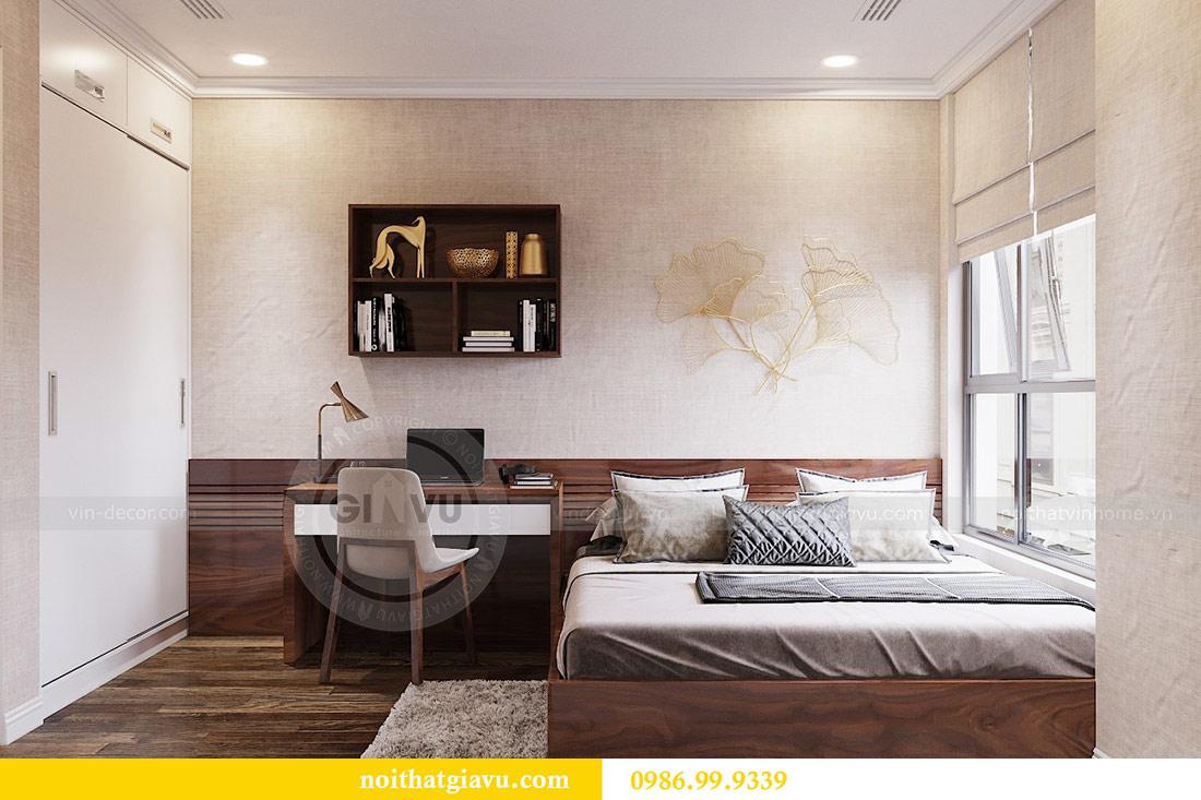 Thiết kế thi công nội thất trọn gói chung cư Dcapitale tòa C3 căn 04 10