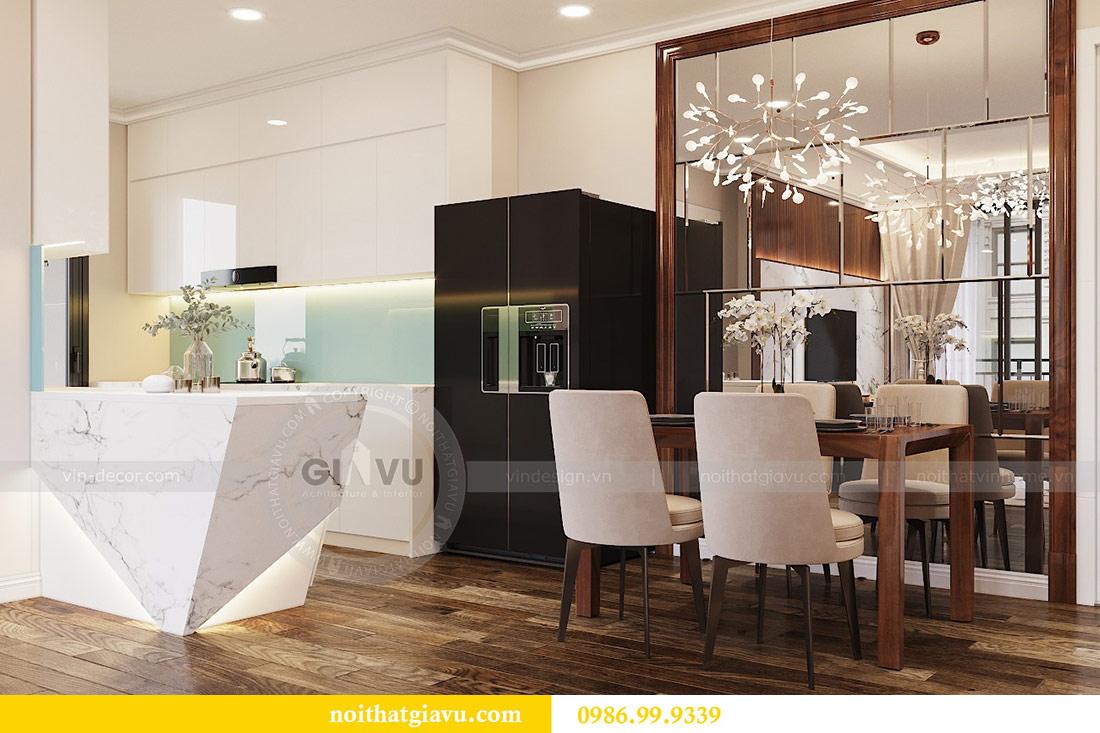 Thiết kế thi công nội thất trọn gói chung cư Dcapitale tòa C3 căn 04 4