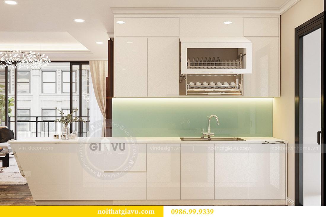Thiết kế thi công nội thất trọn gói chung cư Dcapitale tòa C3 căn 04 5