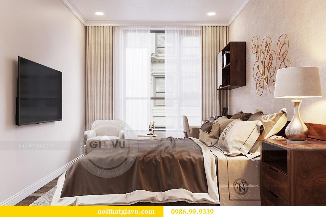 Thiết kế thi công nội thất trọn gói chung cư Dcapitale tòa C3 căn 04 9
