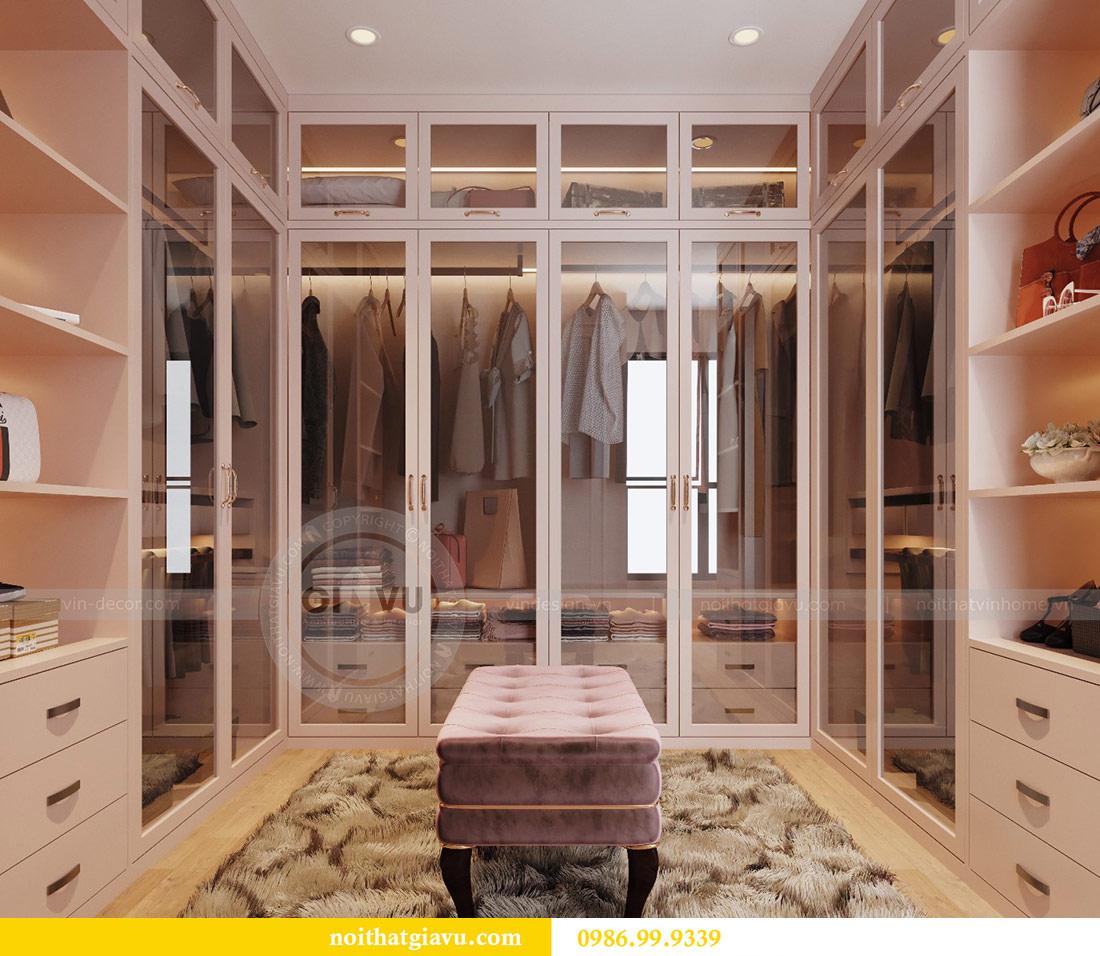 Thiết kế nội thất chung cư Ancora Lương Yên căn 01 tòa T2 11