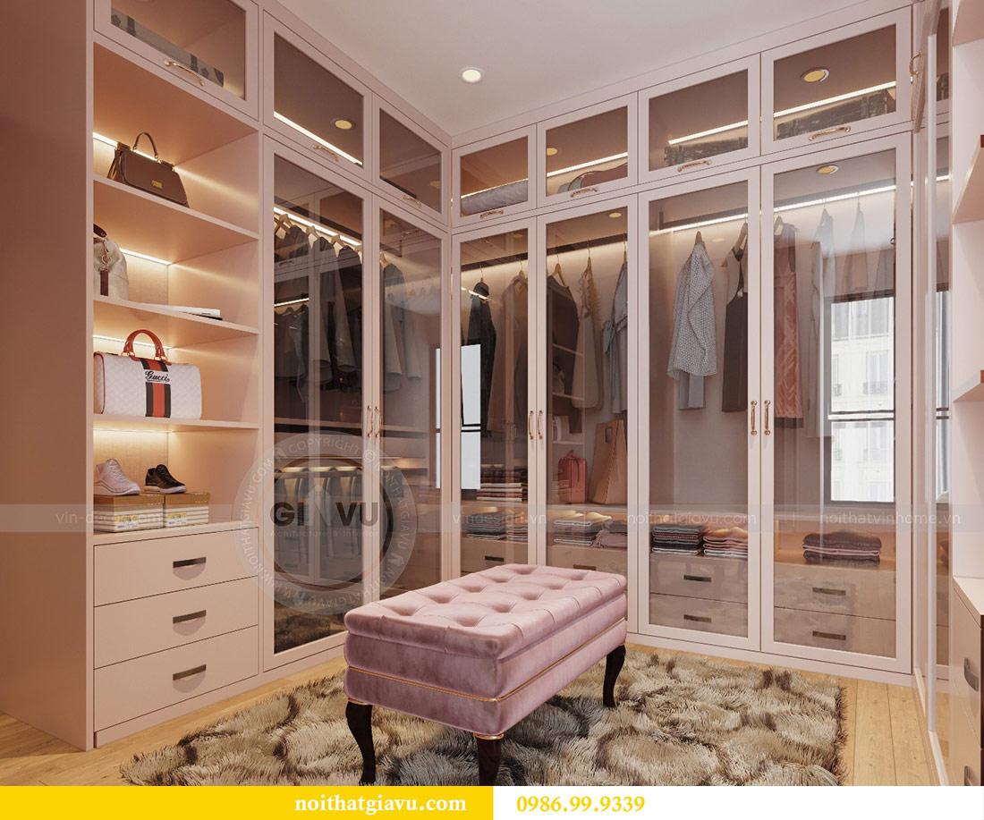 Thiết kế nội thất chung cư Ancora Lương Yên căn 01 tòa T2 12