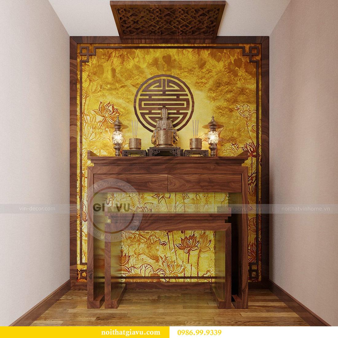 Thiết kế nội thất chung cư Ancora Lương Yên căn 01 tòa T2 13