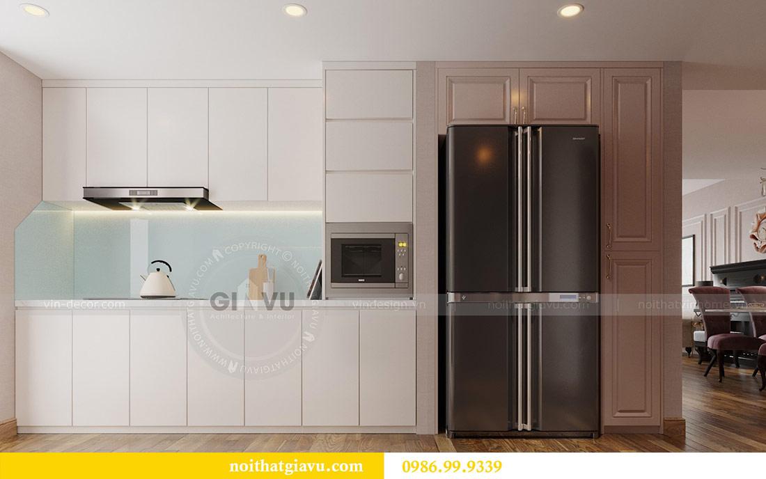 Thiết kế nội thất chung cư Ancora Lương Yên căn 01 tòa T2 3