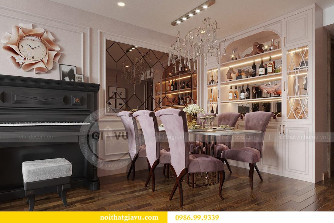 Thiết kế nội thất chung cư Ancora Lương Yên căn 01 tòa T2 4