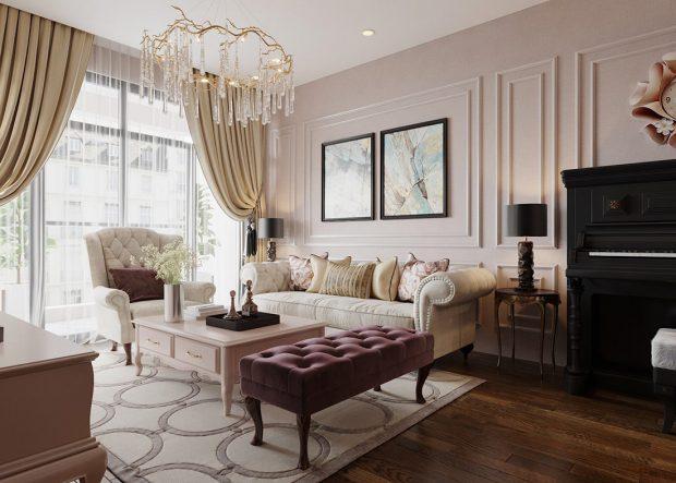Thiết kế nội thất chung cư Ancora Lương Yên căn 01 tòa T2