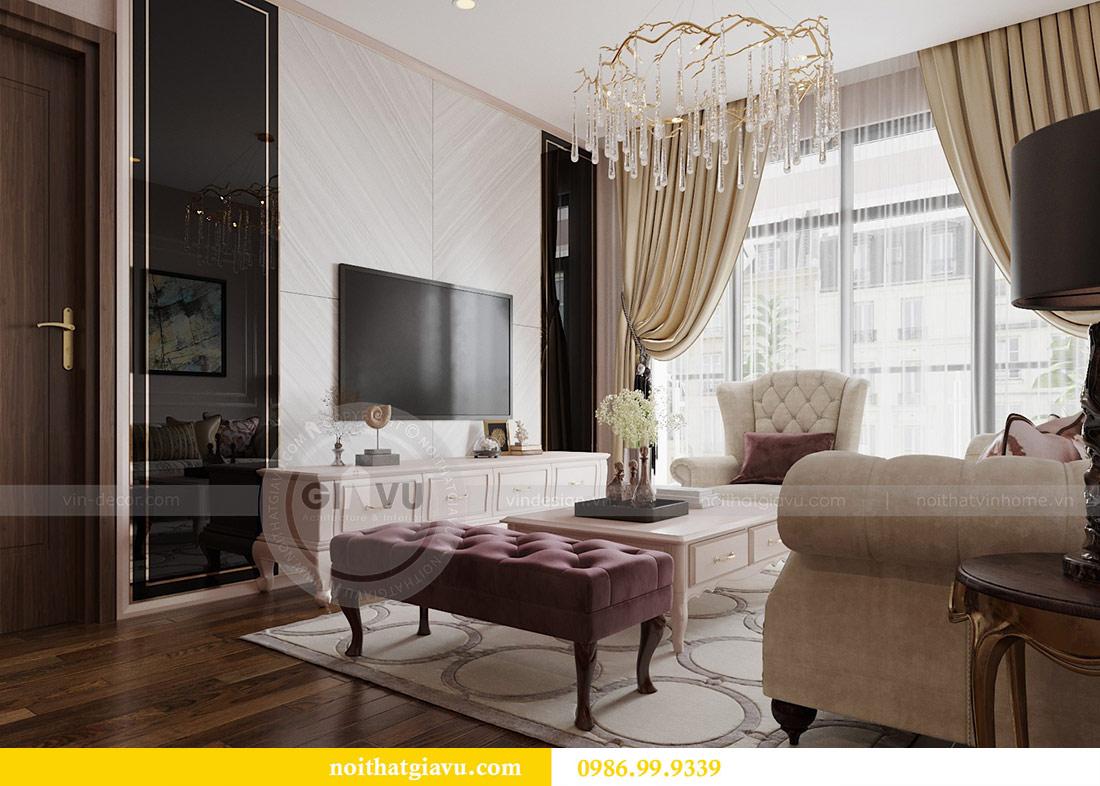 Thiết kế nội thất chung cư Ancora Lương Yên căn 01 tòa T2 7