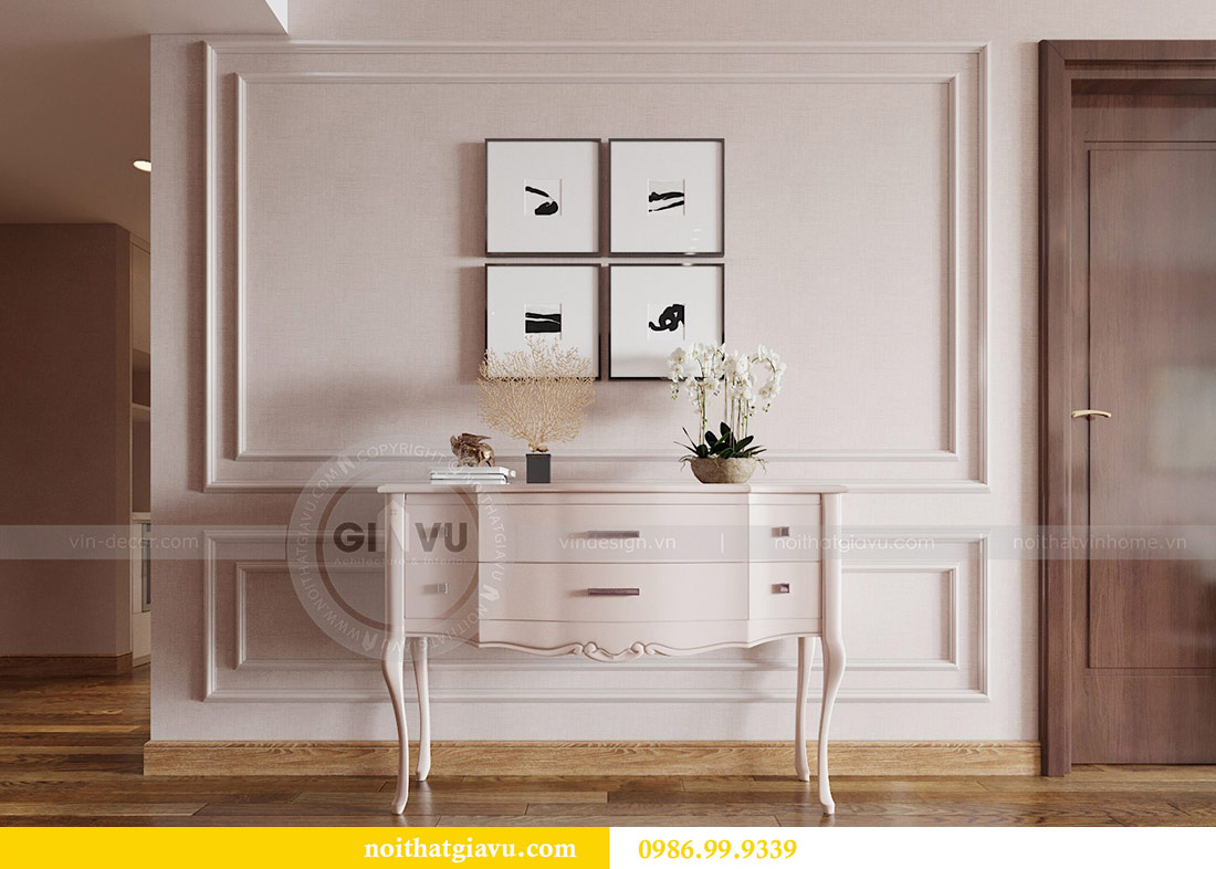 Thiết kế nội thất chung cư Ancora Lương Yên căn 01 tòa T2 8