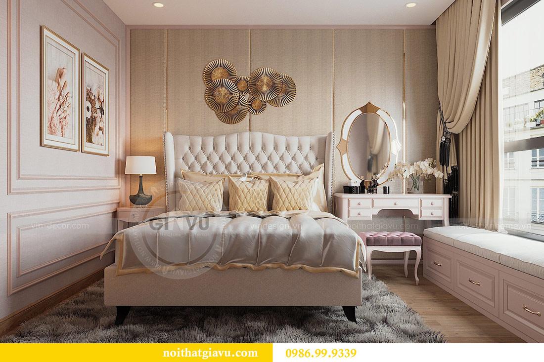 Thiết kế nội thất chung cư Ancora Lương Yên căn 01 tòa T2 9
