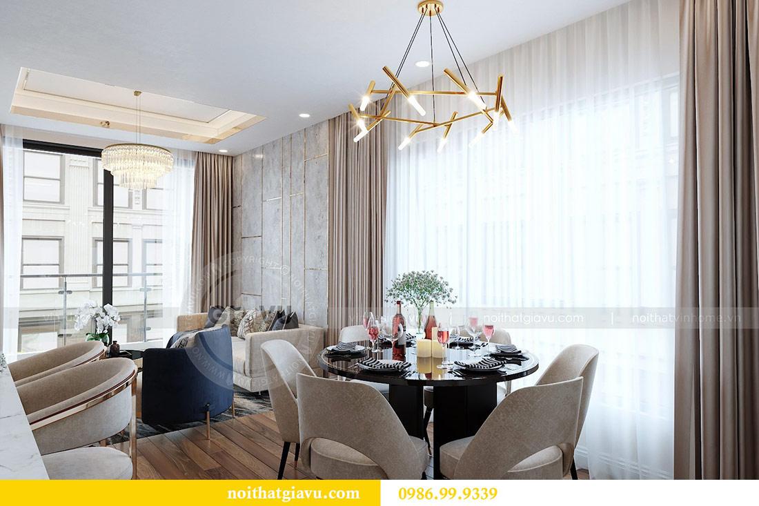 Thiết kế nội thất Vinhomes Green Bay tòa G2 căn 05 - chị Trang 1