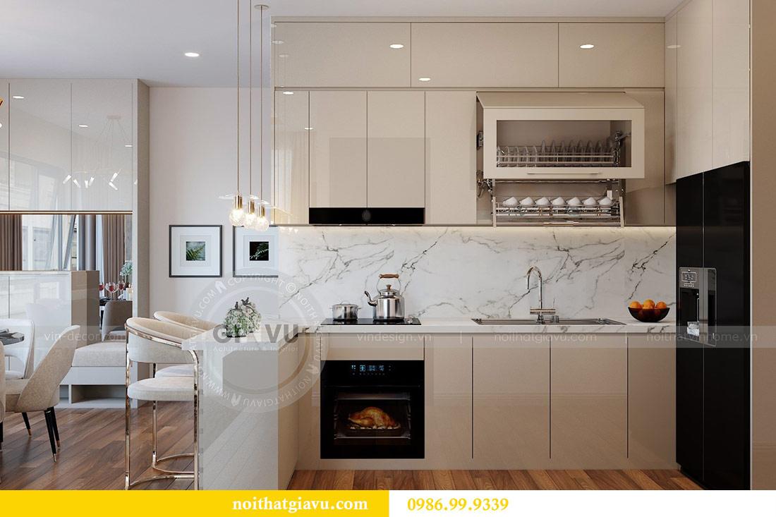Thiết kế nội thất Vinhomes Green Bay tòa G2 căn 05 - chị Trang 4
