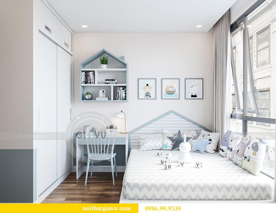 Thiết kế nội thất Vinhomes Green Bay tòa G2 căn 05 - chị Trang 7