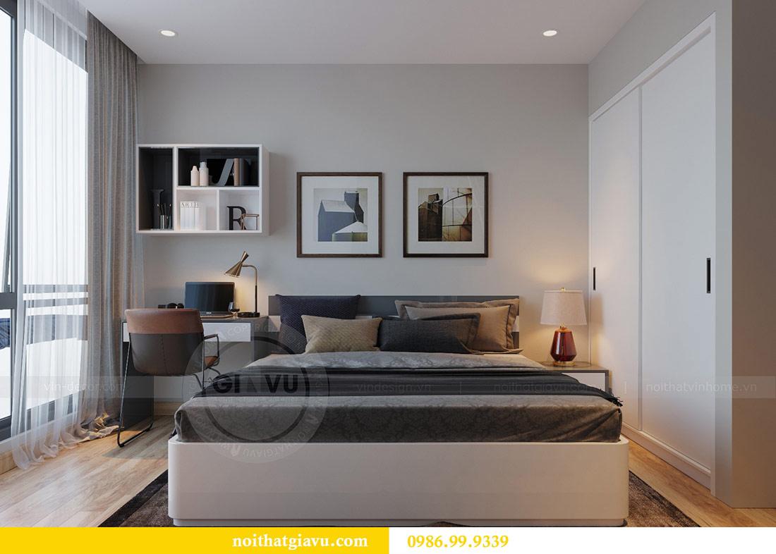 Thiết kế nội thất Vinhomes Liễu Giai căn 3 ngủ nhà chú Hiệp 10
