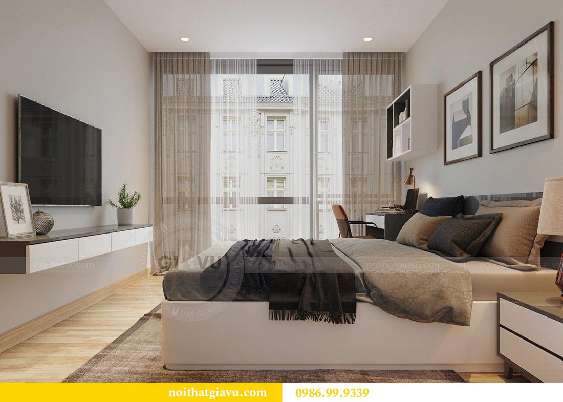 Thiết kế nội thất Vinhomes Liễu Giai căn 3 ngủ nhà chú Hiệp 11