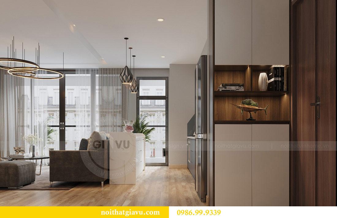 Thiết kế nội thất Vinhomes Liễu Giai căn 3 ngủ nhà chú Hiệp 5
