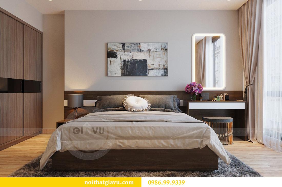 Thiết kế nội thất Vinhomes Liễu Giai căn 3 ngủ nhà chú Hiệp 6