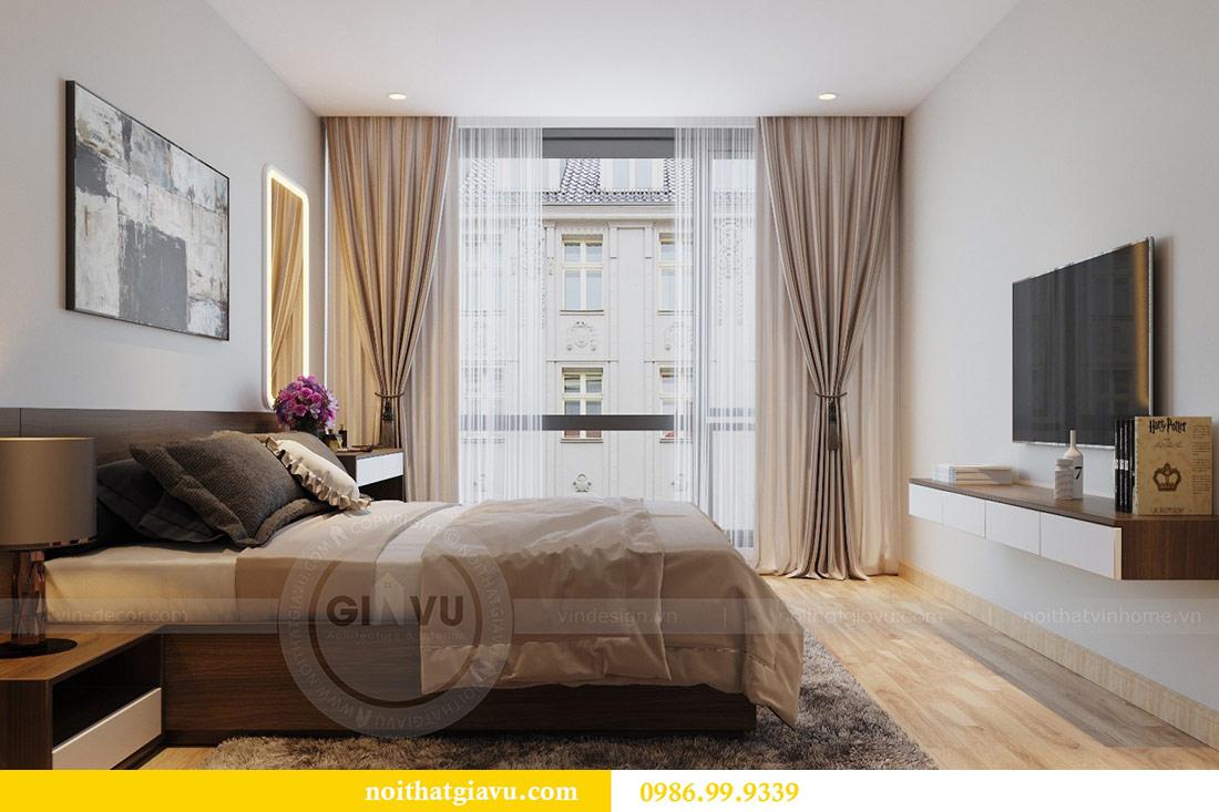 Thiết kế nội thất Vinhomes Liễu Giai căn 3 ngủ nhà chú Hiệp 7