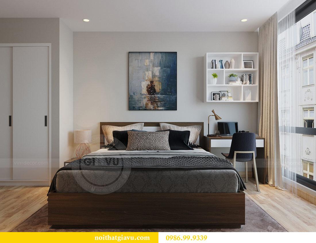 Thiết kế nội thất Vinhomes Liễu Giai căn 3 ngủ nhà chú Hiệp 8