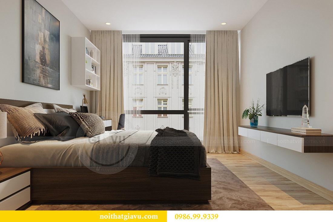 Thiết kế nội thất Vinhomes Liễu Giai căn 3 ngủ nhà chú Hiệp 9