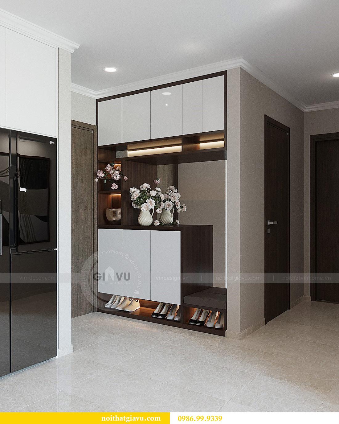Thiết kế thi công nội thất Vinhomes Dcapitale tòa C1 căn 01 - anh Nam 1