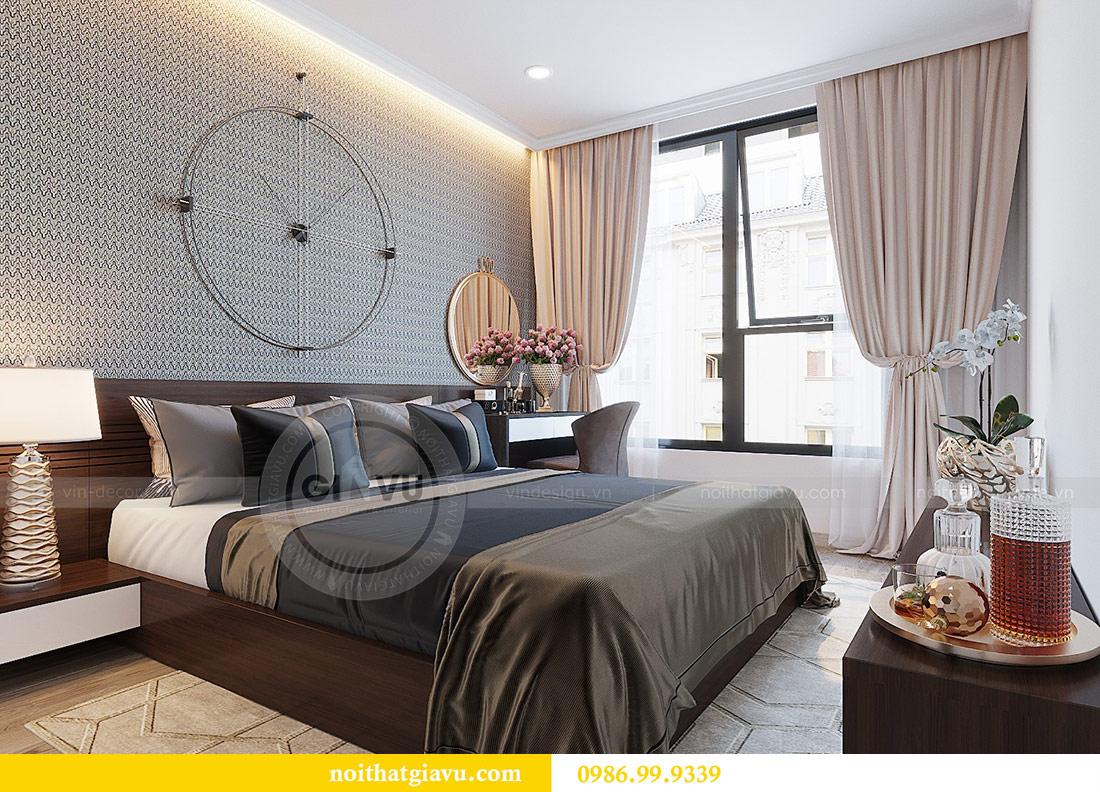 Thiết kế thi công nội thất Vinhomes Dcapitale tòa C1 căn 01 - anh Nam 10