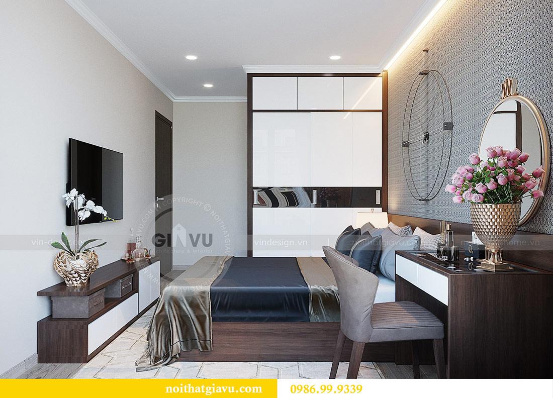 Thiết kế thi công nội thất Vinhomes Dcapitale tòa C1 căn 01 - anh Nam 11