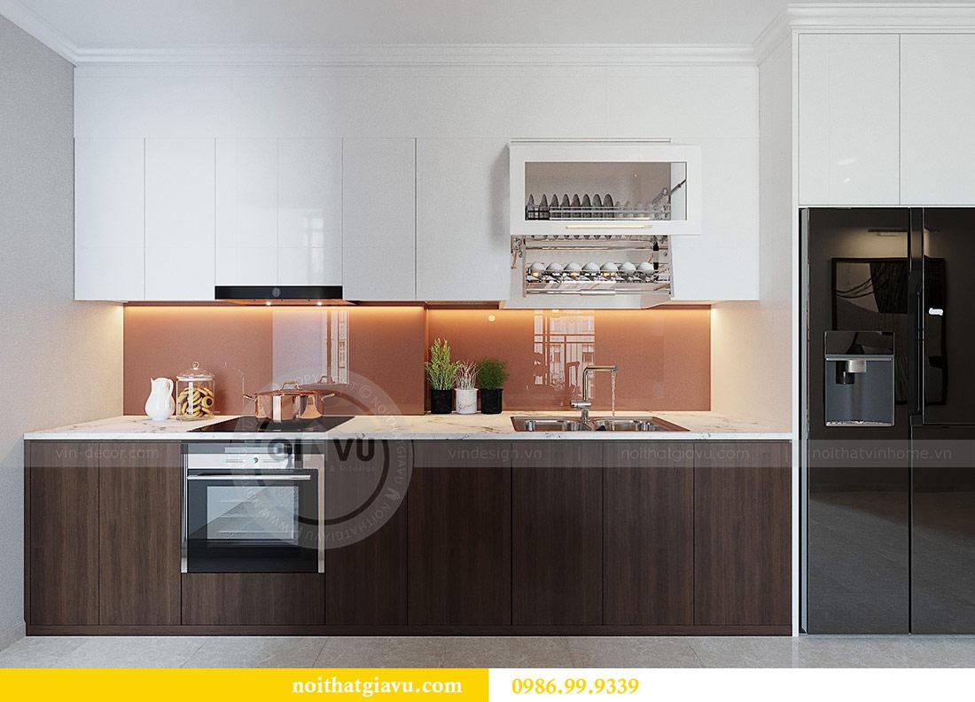 Thiết kế thi công nội thất Vinhomes Dcapitale tòa C1 căn 01 - anh Nam 3