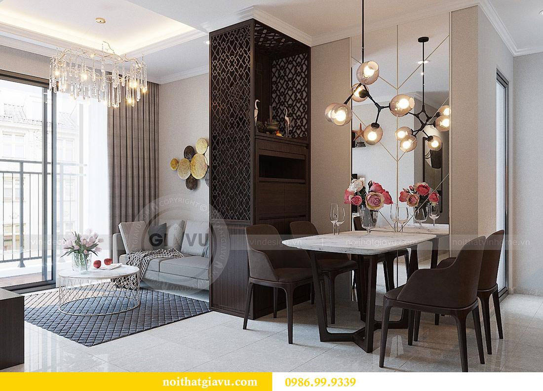 Thiết kế thi công nội thất Vinhomes Dcapitale tòa C1 căn 01 - anh Nam 4