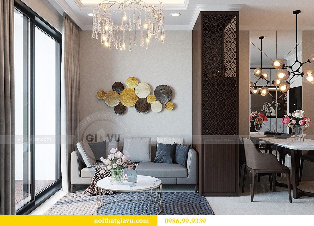 Thiết kế thi công nội thất Vinhomes Dcapitale tòa C1 căn 01 - anh Nam 5