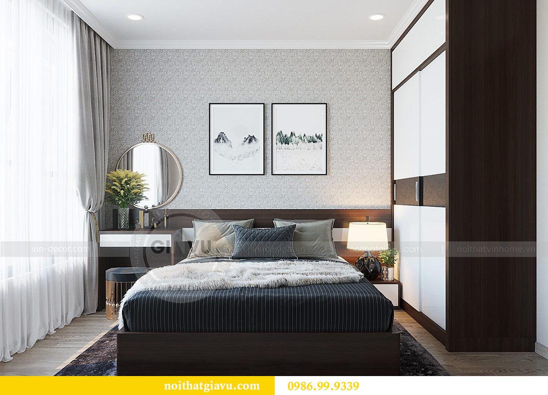 Thiết kế thi công nội thất Vinhomes Dcapitale tòa C1 căn 01 - anh Nam 7