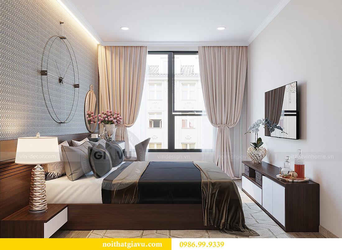 Thiết kế thi công nội thất Vinhomes Dcapitale tòa C1 căn 01 - anh Nam 9