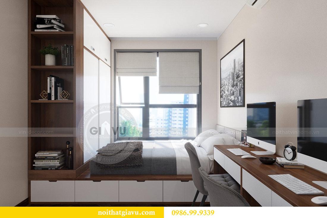 Thiết kế nội thất chung cư Dcapitale tòa C3 căn 10 - chị Hằng 10
