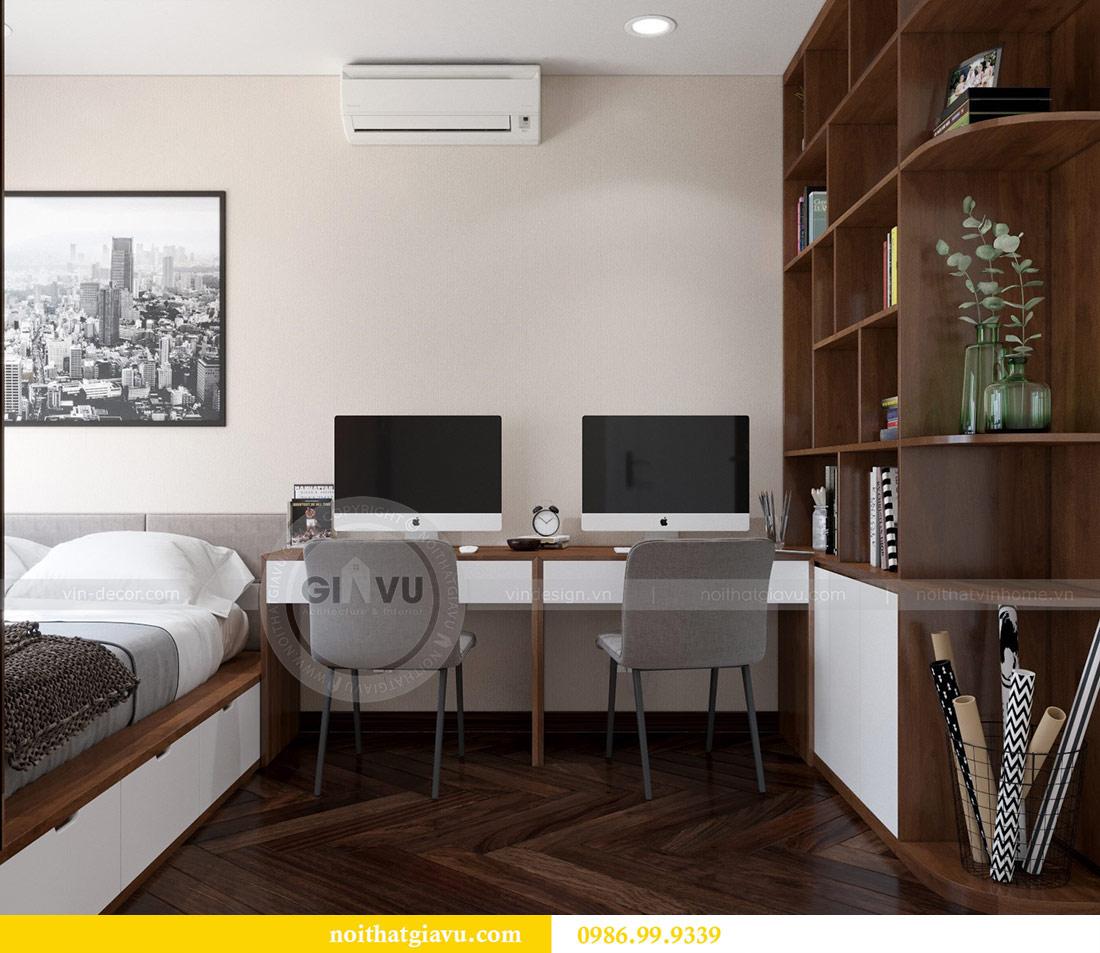 Thiết kế nội thất chung cư Dcapitale tòa C3 căn 10 - chị Hằng 11