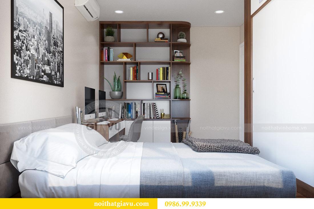Thiết kế nội thất chung cư Dcapitale tòa C3 căn 10 - chị Hằng 12