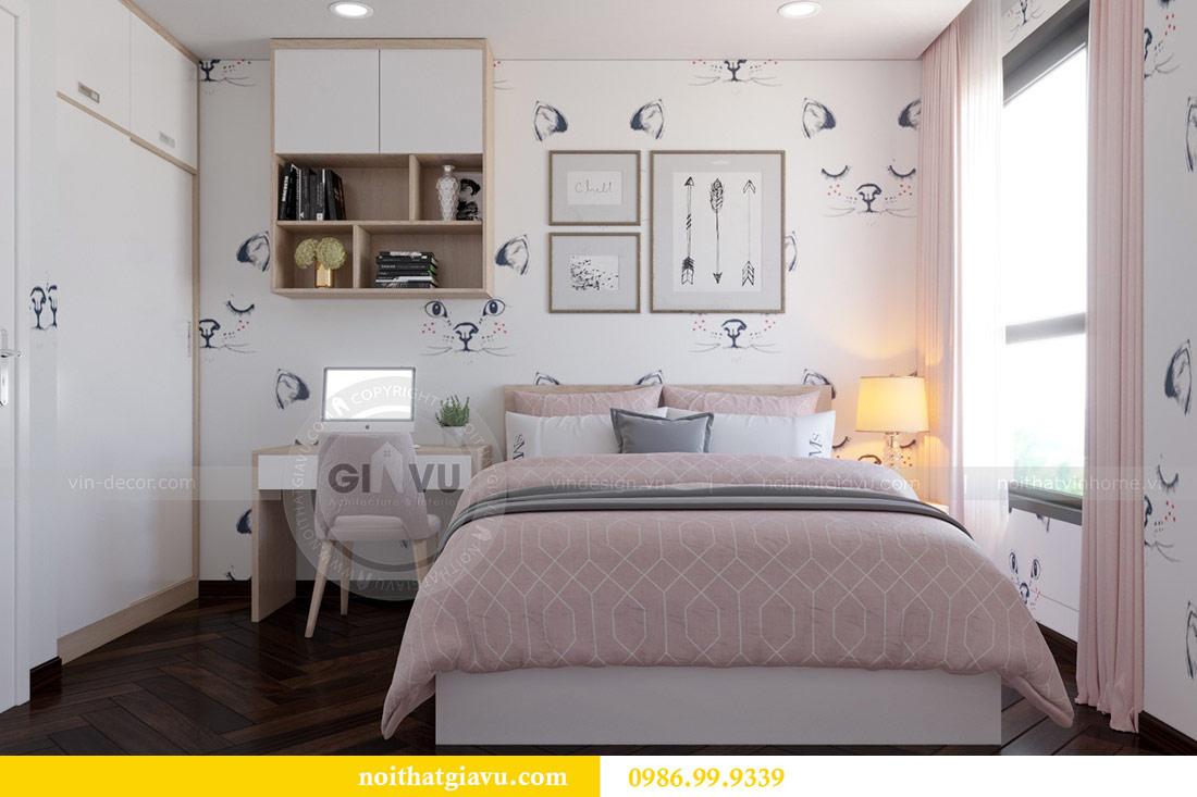 Thiết kế nội thất chung cư Dcapitale tòa C3 căn 10 - chị Hằng 13